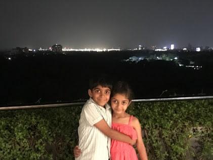 Kaushik and Anagha – Siblings!