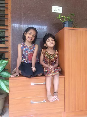 My awesome twosome -Jo and Harshu!