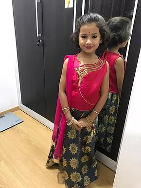 That innocence…Little Avni it is!