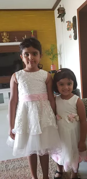 My adorables – Anu and Aarna!