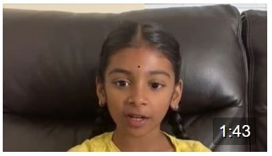 Wow…look at Sanjana saying the Lingastakam with so much ease….lovely kanna.Keep it up:) Aunty is so proud of you:)