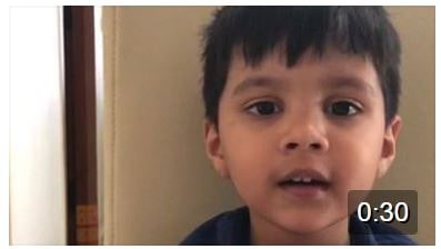 Look at the little munchkin – Armaan:) loving it…my kids are so so amazing!