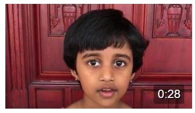Narasimha Prapatti by Aaradhya..
