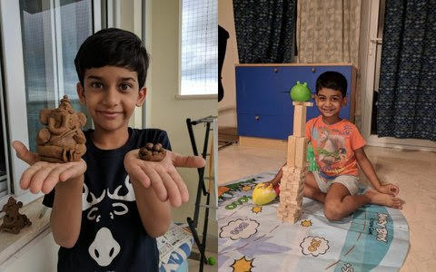 Samarth and Nirvaan – The adorable siblings