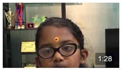 My lil star of Gurukulam – Anoushka