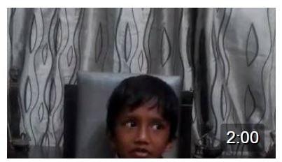 Just as little as 5 Aneesh chanting the Madhurastakam….Such a cutie!