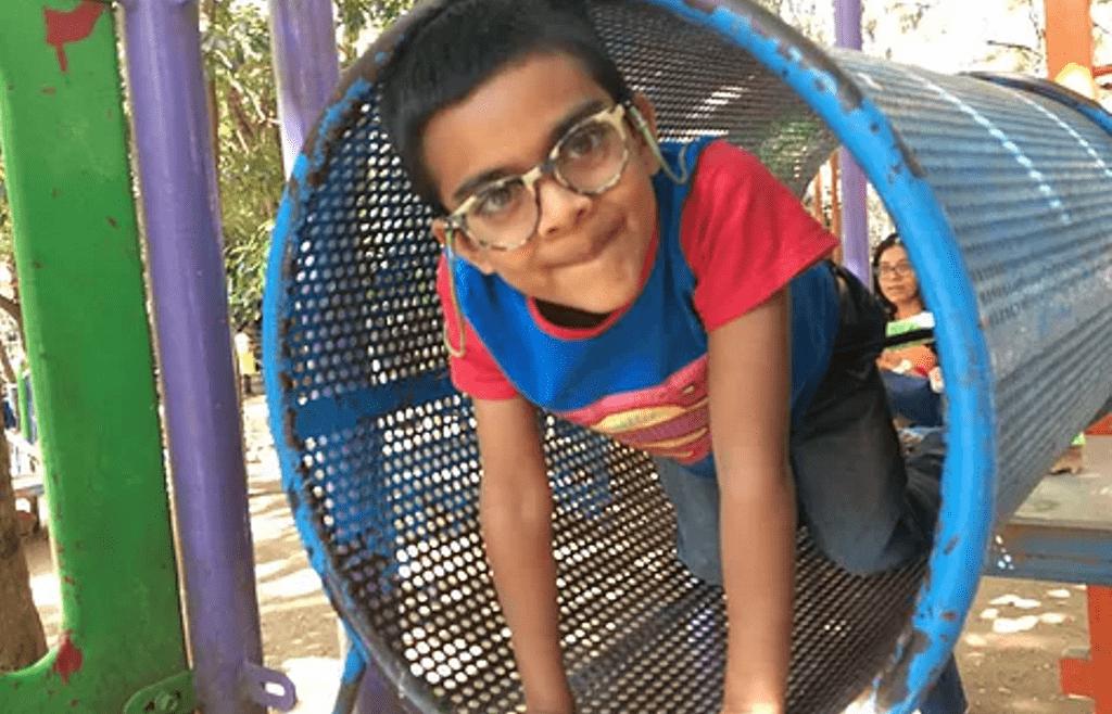 Little Omkar -The huge Marvels fan!