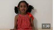 Look at my little munchkin Aaradhya chant the Madhurastakam just before Janmaastami
