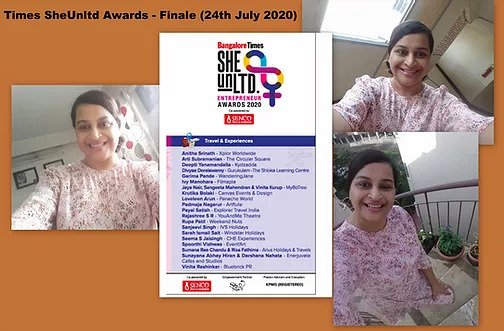 Times SheUnltd Awards -Finale (24th July 2020)