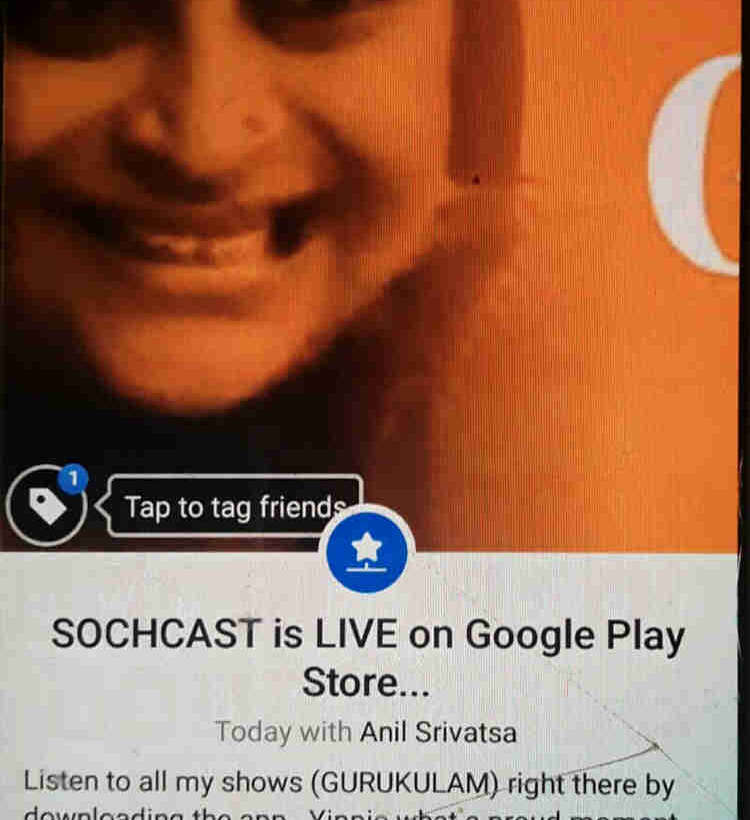 SOCHCAST is now LIVE on Google Play Store..Yay!