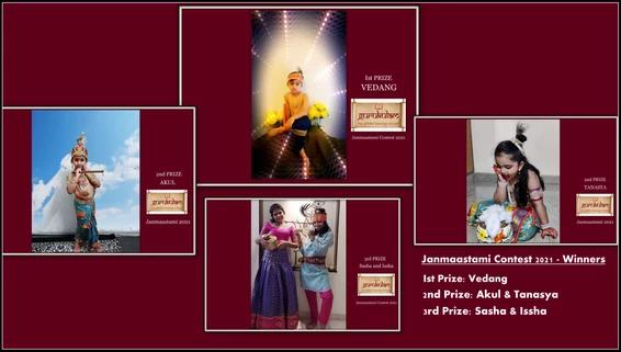 Winners: Janmaastami Contest 2021!!!